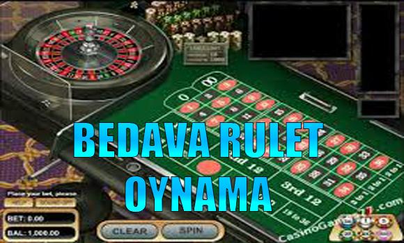 bedava rulet oynama, Bedava rulet nasıl oynanır, Hangi sitelerde bedava rulet oynanır